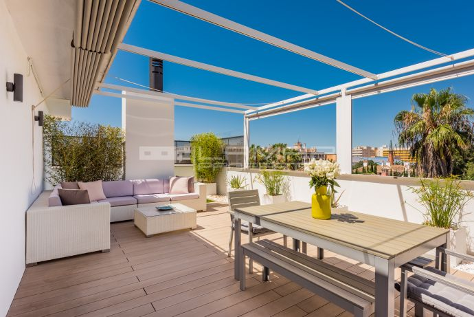 Penthouse in Marbella centre for rent long term