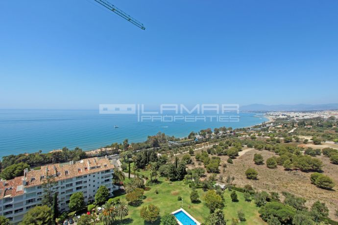 Panoramic sea views in Marbella - Torre Real