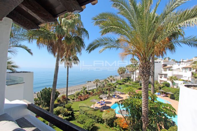 Beachfront penthouse in Puerto Banus - Ventura del Mar