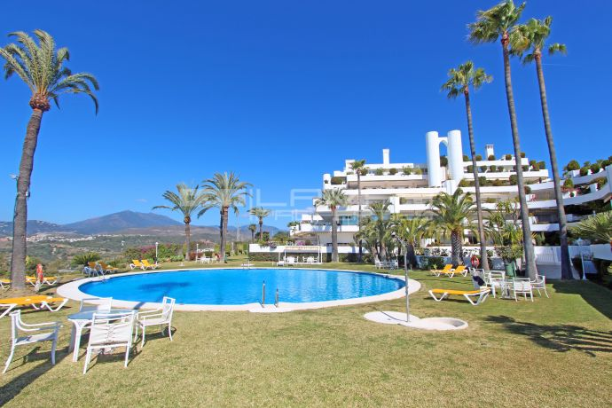 Panoramic views on Marbella's Golden Mile