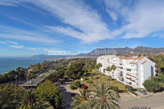 Apartment with sea views Torre Real, Rio Real - Marbella