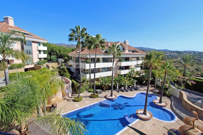 Modern beachside apartment in Los Monteros, Marbella