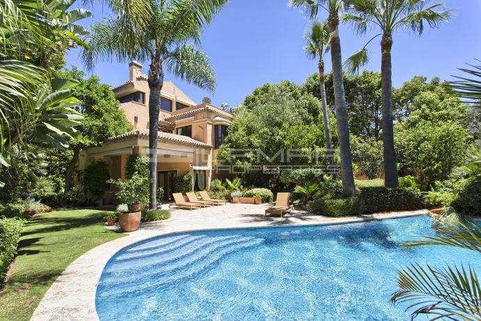 Spacious villa on Marbella Golden Mile