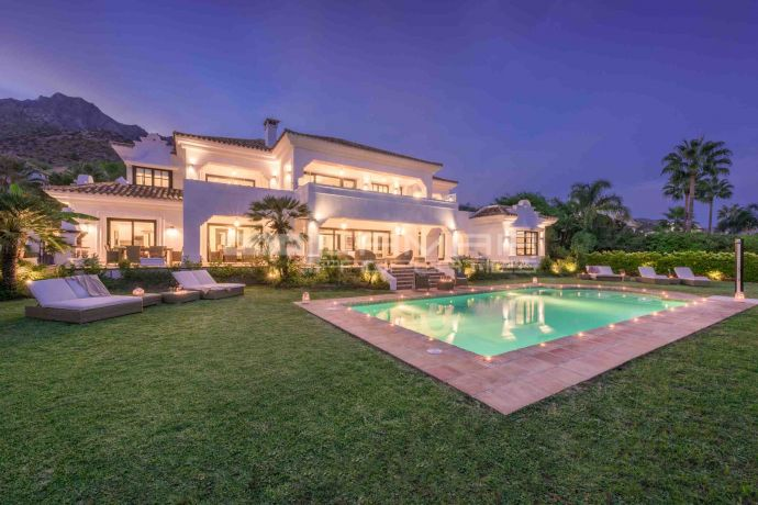 Luxury villa in Marbella Sierra Blanca