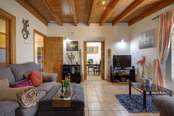 Lovely Andalucian style townhouse with 3 independent apartments for sale in Estepona Old Town