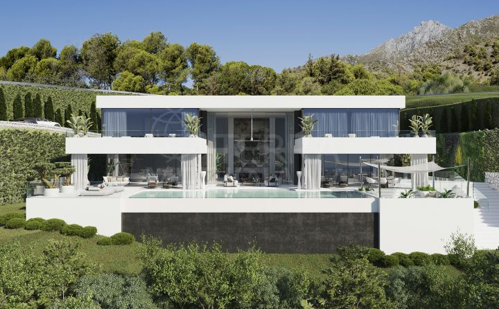 Sleek new villa for sale in La Reserva de Alcuzcuz, Benahavis