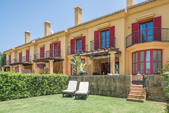 Townhouse with golf views for sale in Los Carmenes de Almenara, Sotogrande