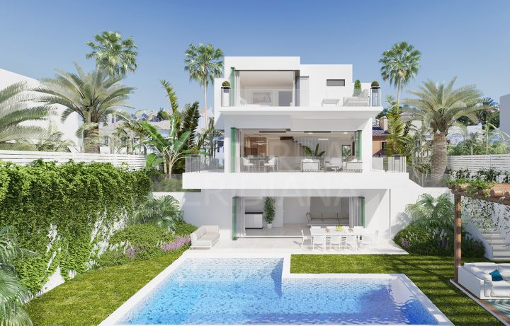 Brand new deluxe villa for sale in Nueva Andalucia, Marbella