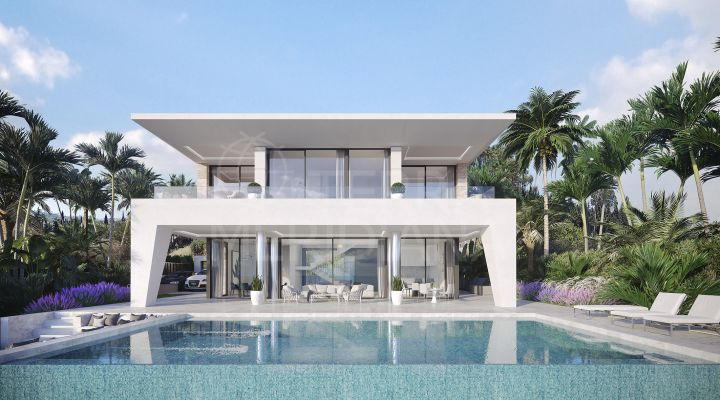 Eco design off-plan villa for sale in La Duquesa, Manilva