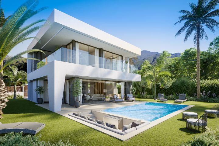 Off-plan luxury villa for sale in La Duquesa, Manilva