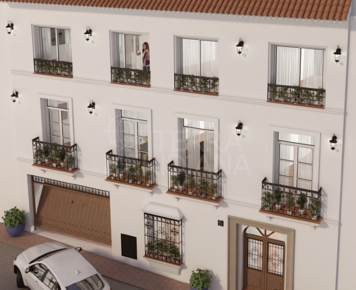 Plot for sale in Estepona Old Town for apartments