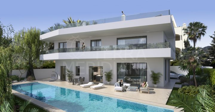Just completed luxury villa for sale in Casablanca, Marbella Golden Mile