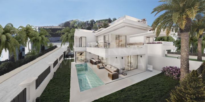 Brand new beachside villa for sale in Rio Verde, Marbella Golden Mile