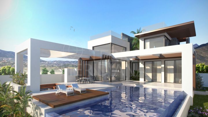 Off-plan energy-efficient luxury villa for sale in Seghers, Estepona