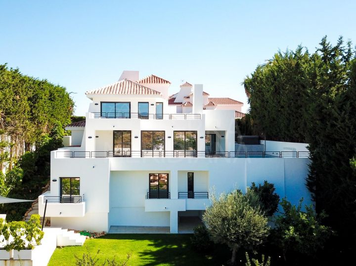 Upgraded villa for sale in Las Lomas de Nueva Andalucia, Nueva Andalucia, Marbella