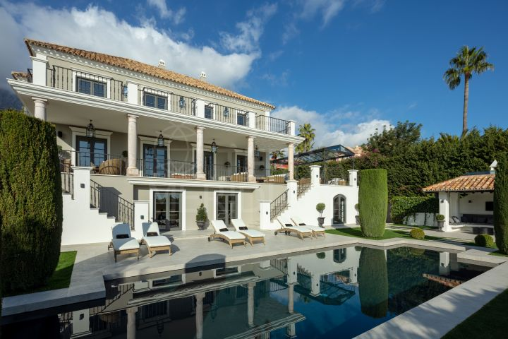 Completely remodelled luxury villa for sale in Sierra Blanca, Marbella Golden Mile