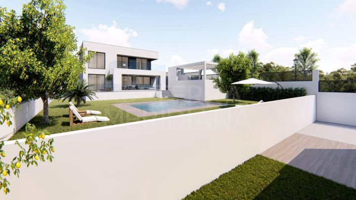 Off plan luxury villa for sale in Villas Mora Sun & Beach, Manilva