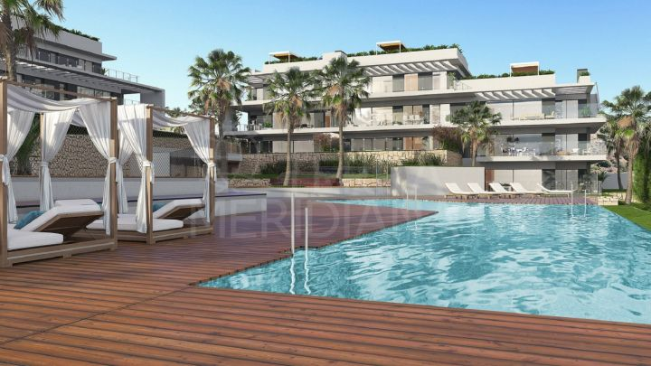 Beautiful 4 bedroom contemporary style apartment for sale in Citrea, Colinas del Limonar, Malaga