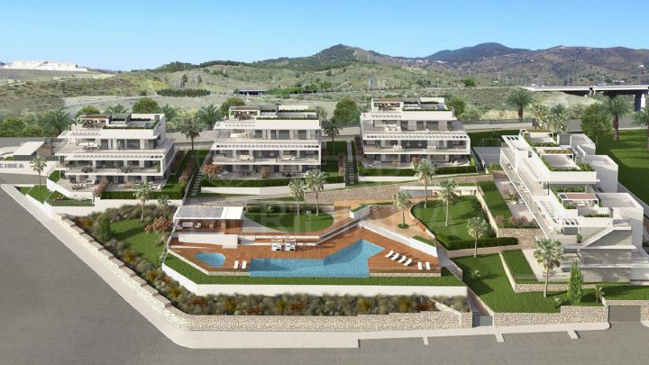 Contemporary style 3 bedroom apartment for sale in Citrea, Colinas del Limonar, Malaga
