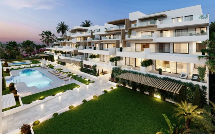 Stunning brand new 4 bedroom penthouse with solarium for sale in Alexia Life Phase 2, Estepona