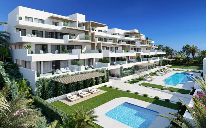 Brand new ground floor studio apartment for sale in Alexia Life Phase 2, Estepona