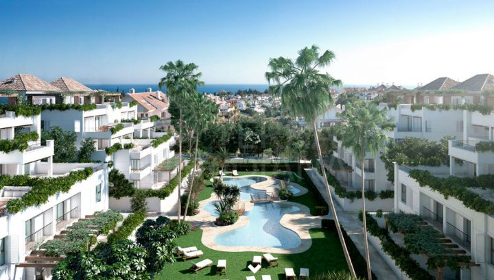 3 bedroom duplex penthouse for sale in Lomas del Rey, Marbella Golden Mile