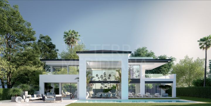 Magnificent contemporary style luxury villa for sale in Puerto Banus, Marbella