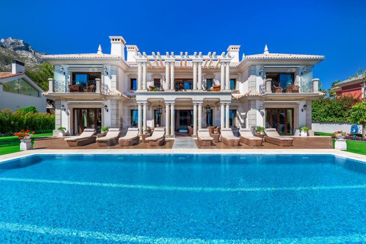 Superb 8 bedroom luxury villa for sale in Sierra Blanca, Marbella