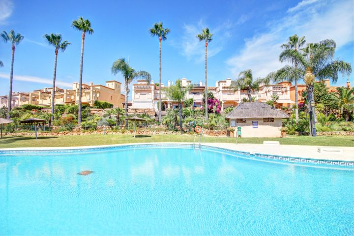 Spacious and upgraded golf townhouse for sale in Guadalmina Baja, San Pedro Alcantara, Marbella