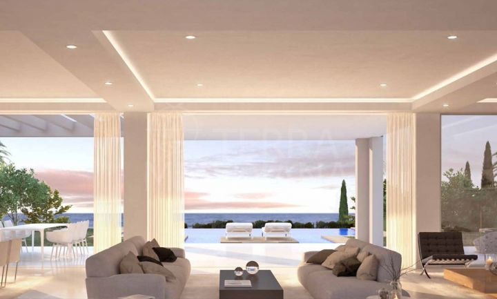 Superb brand new 4 bedroom modern style villa for sale in Santa Clara, Marbella East