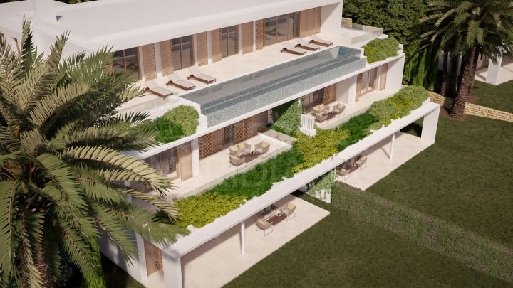 Spectacular brand new 2 bedroom luxury apartment for sale in Las Albercas, Finca Cortesin, Casares