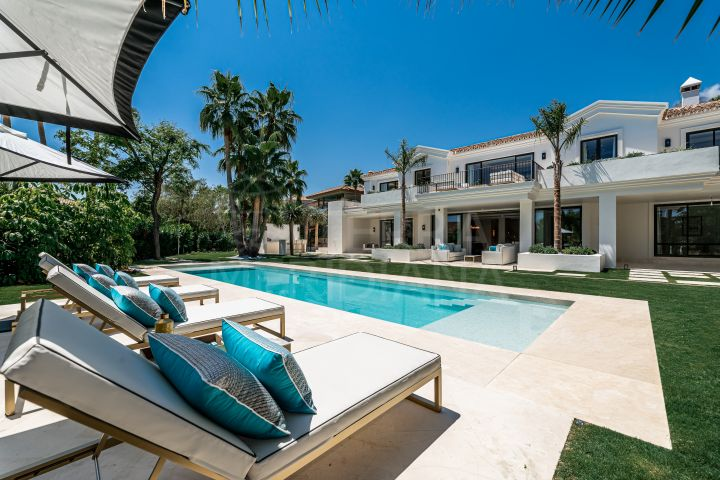 Exceptional new built 5 bedroom luxury villa for sale in Sierra Blanca, Marbella
