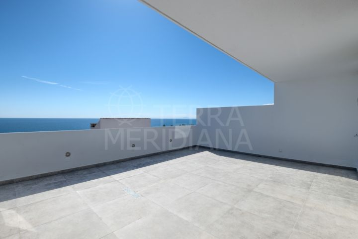 Duplex penthouse with panoramic sea views for sale close to Estepona Port