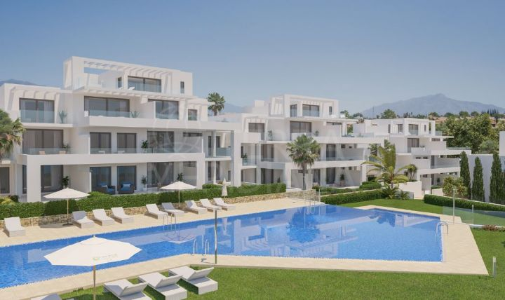 CORTIJO DEL GOLF, Exclusive development of just 64 apartments with social club in Cortijo del Golf, El Campanario, Estepona