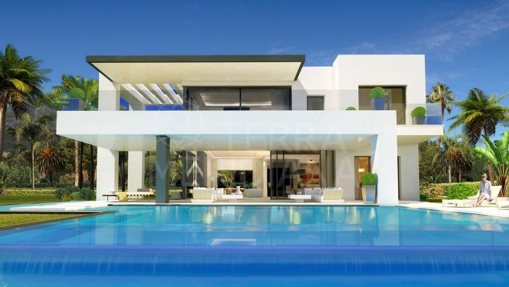 C8ncept Marbella , An exclusive project of 8 contemporary villas with sea views on Marbella's Golden Mile