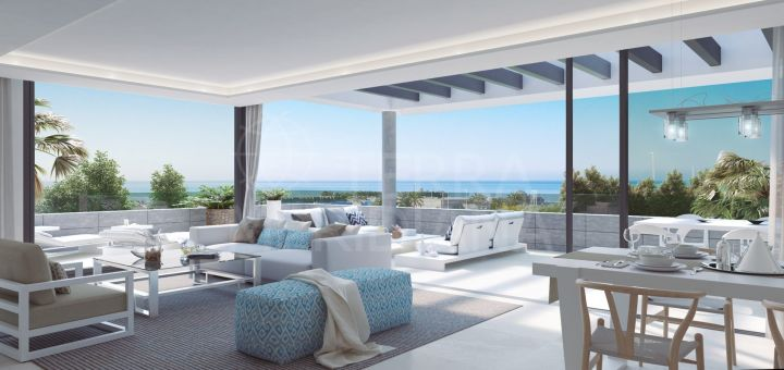 Syzygy - The Residences , Sleek off plan modern apartments in a gated community along the New Golden Mile, Estepona
