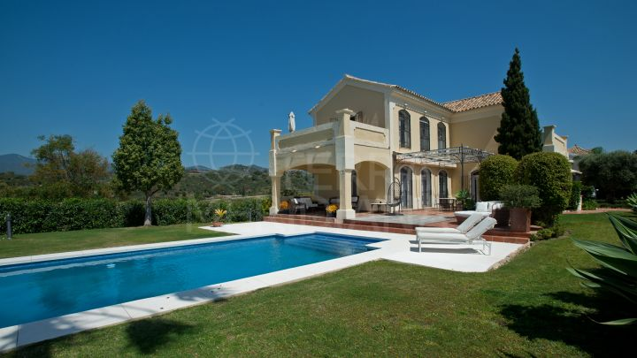 Beautiful villa for sale in Selwo, Estepona with stunning sea views