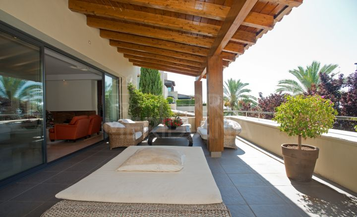 Stylish modern apartment in the exclusive gated community of IMARA, Sierra Blanca, Marbella