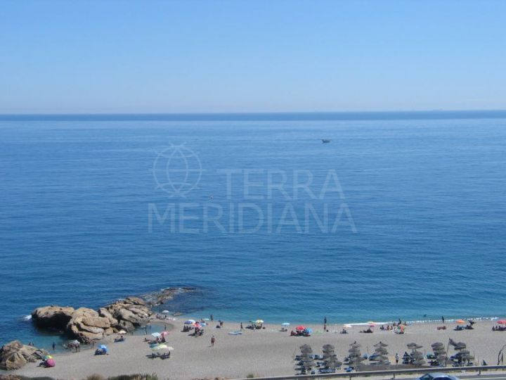 Superb plot with spectacular sea and mountain views, Punta la Chullera, Casares