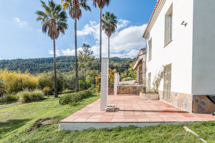 Charming villa set within 3 acres of private mature gardens for sale in Gaucin, Andalucia