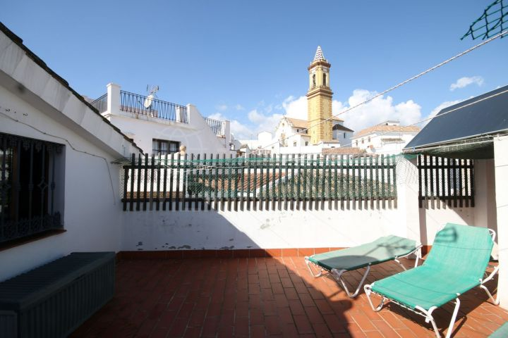 Fully restored townhouse for sale in the heart of Estepona old town