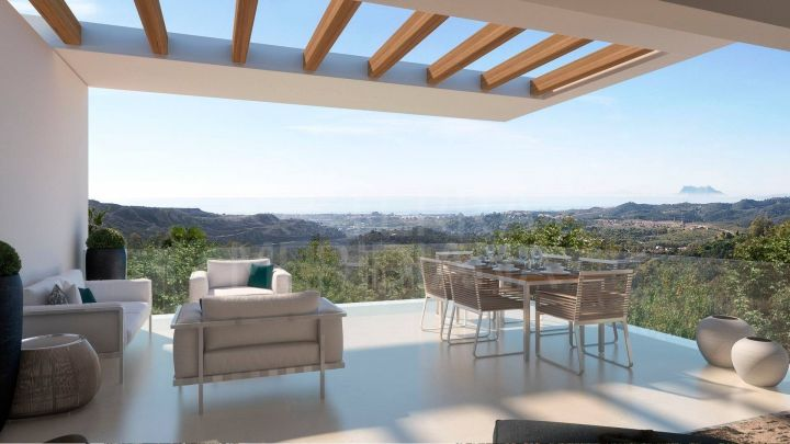New gated development of luxury 3 and 4 bedroom apartments and penthouses for sale next to Marbella Club Golf Resort