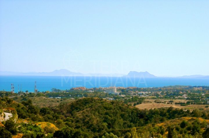 Substantial plot with picture perfect views for sale on the New Golden Mile, Estepona