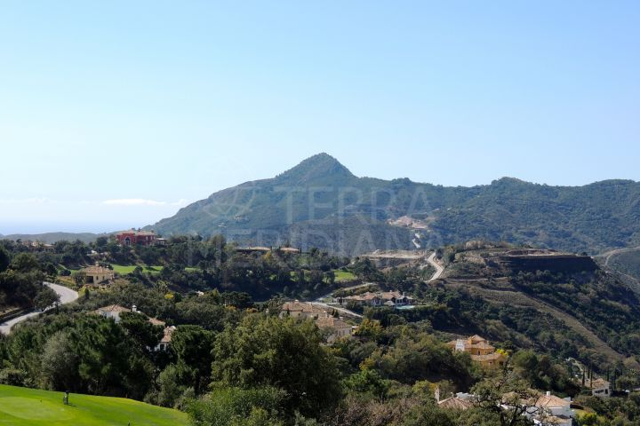 Fantastic development opportunity, double plot for sale in La Zagaleta with sea views, ecological wall in place and ready to build