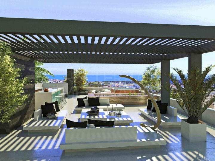 New detached luxury modern villa for sale by El Campanario Golf and clubhouse, Estepona