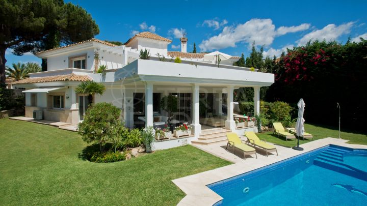 Beautifully reformed villa for sale in La Reserva de Los Monteros, Marbella