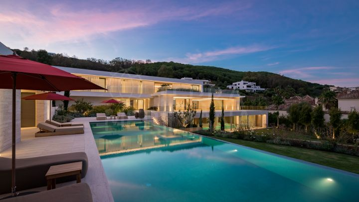 New luxury villa overlooking the Mediterranean for sale in La Reserva de Sotogrande, Sotogrande