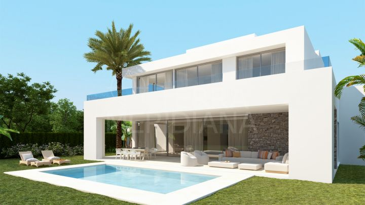 Off-plan cutting edge luxury villa for sale in the resort-like development of La Finca de Marbella 2, Rio Real, Marbella East