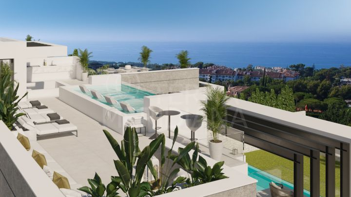 New villa with sauna and gym for sale in the heart of the iconic Marbella Golden Mile