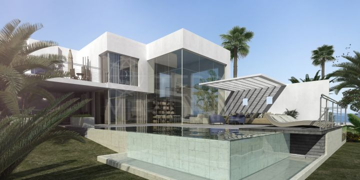 Off plan luxury villa with a 6 month construction period for sale in El Madroñal, Benahavis